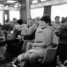 Passengers on TEV Wahine