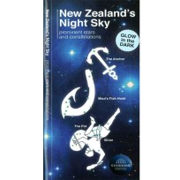 New Zealand's Night Sky Chart, Star Chart, Book,Space, Astronomy
