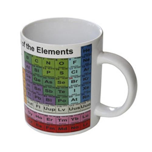 Periodic Table, Gift, Mug, Ceramic, Science, Periodic Table Mug