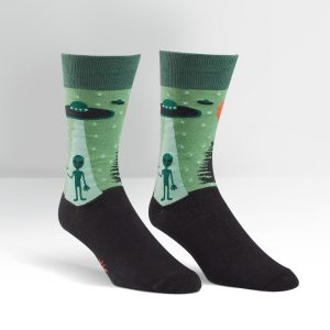 I Believe UFO Socks