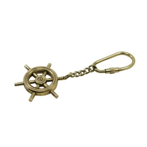 Brass Ship Wheel