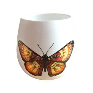 Monarch Ceramic Votive