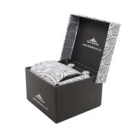 Silver Tie Set