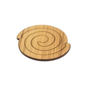 rimu koru coasters