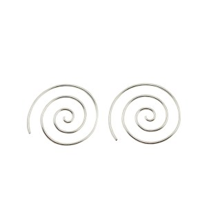 Spiral Earrings sml