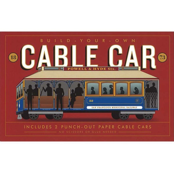 Cable Car, Book, Model