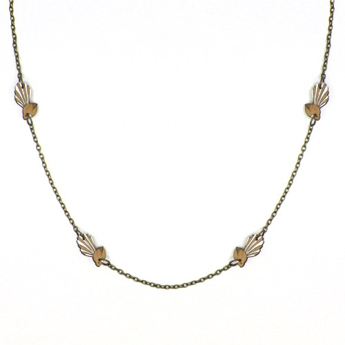 Natty Fantail Necklace