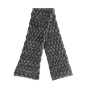 Charcoal Woven Scarf