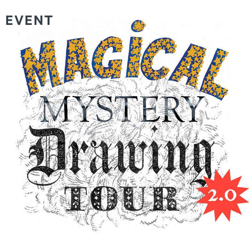 Magical Mystery Drawing Tour 2 0 - Museums Wellington