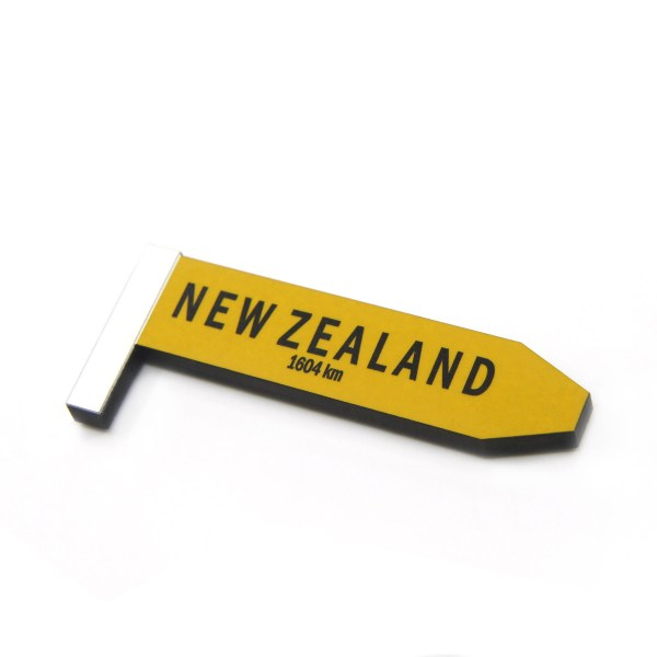 New Zealand Road Sign Magnet