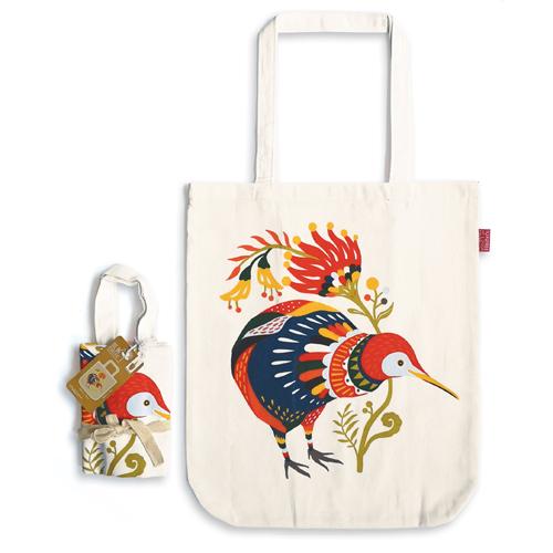 Gift, Tote Bag, Bag, Tofutree, Kiwi
