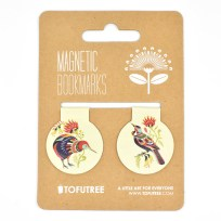 Gift, Tofutree, Bookmark, Kiwi, Tui, Stationery