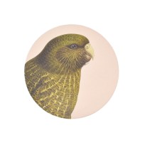 Gift, Homewares, Coaster, Kakapo, 100 Percent New Zealand,