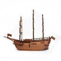 Model, Abstract Design, Ship, James Cook,
