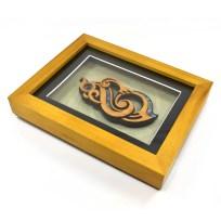 Medium Framed Manaia gift maori culture carving art