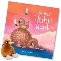 Kuwi's Huhu Hunt, Book, Children's Book, Kiwi