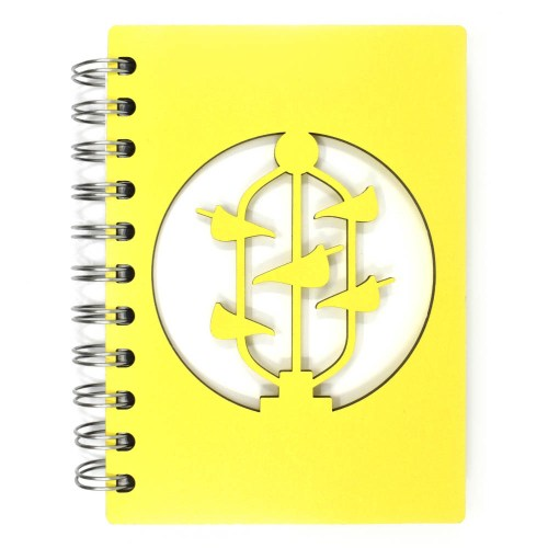 Bucket Fountain Notebook - Yellow