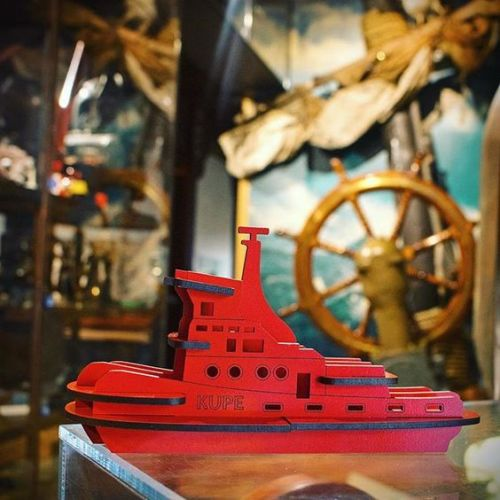 Kupe Tugboat Kitset Model - Large