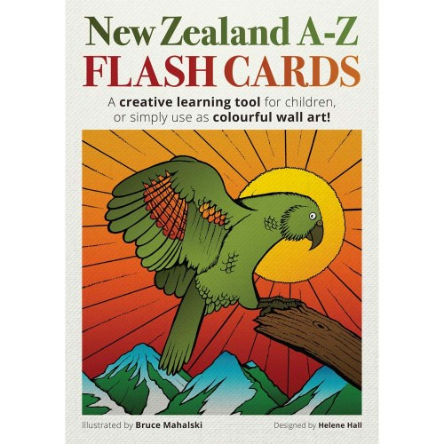 New Zealand A-Z Flash Cards