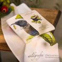 Organic Cotton Tui Tea Towel