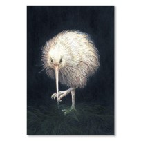 White Kiwi Greeting Card