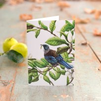 Tui Greeting Card Wild Grey Fox