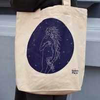 Space Place Aphrodites Delight Tote Bag
