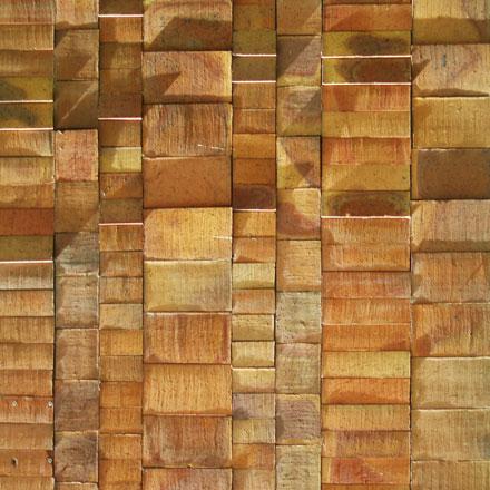 Faade de briques sculptes  MuseumTextures