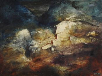 John Piper, Rocky Valley, North Wales, 1948