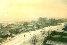 schaatsen in Woubrugge 1941