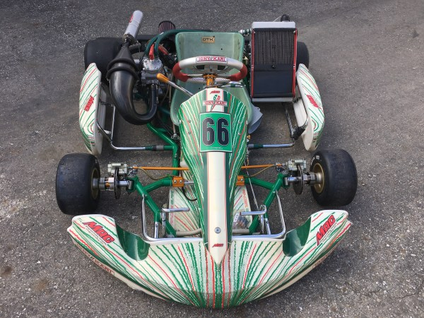 TONY KART 2012 w COMPLETE MRC CR125 ENGINE PACKAGE
