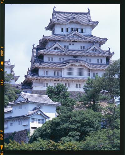 リバーサルの姫路城(參考)