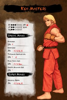 Musha_Shugyo_Street_Fighter_II_HD_Ken_Masters