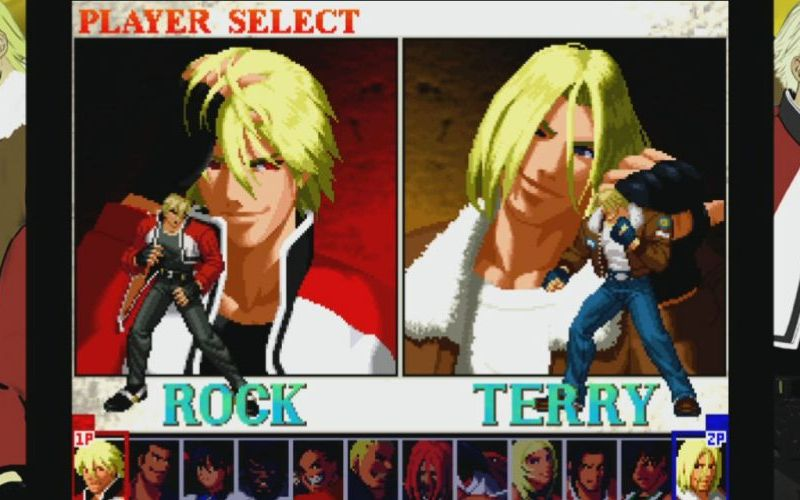 Garou: Mark of the Wolves parte 2 (Rock Howard e Terry Bogard)