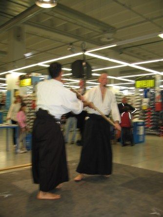 Demo @ Decathlon Udine - 2008