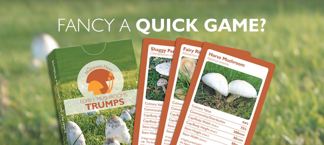 Edible Mushrooms Trumps Game