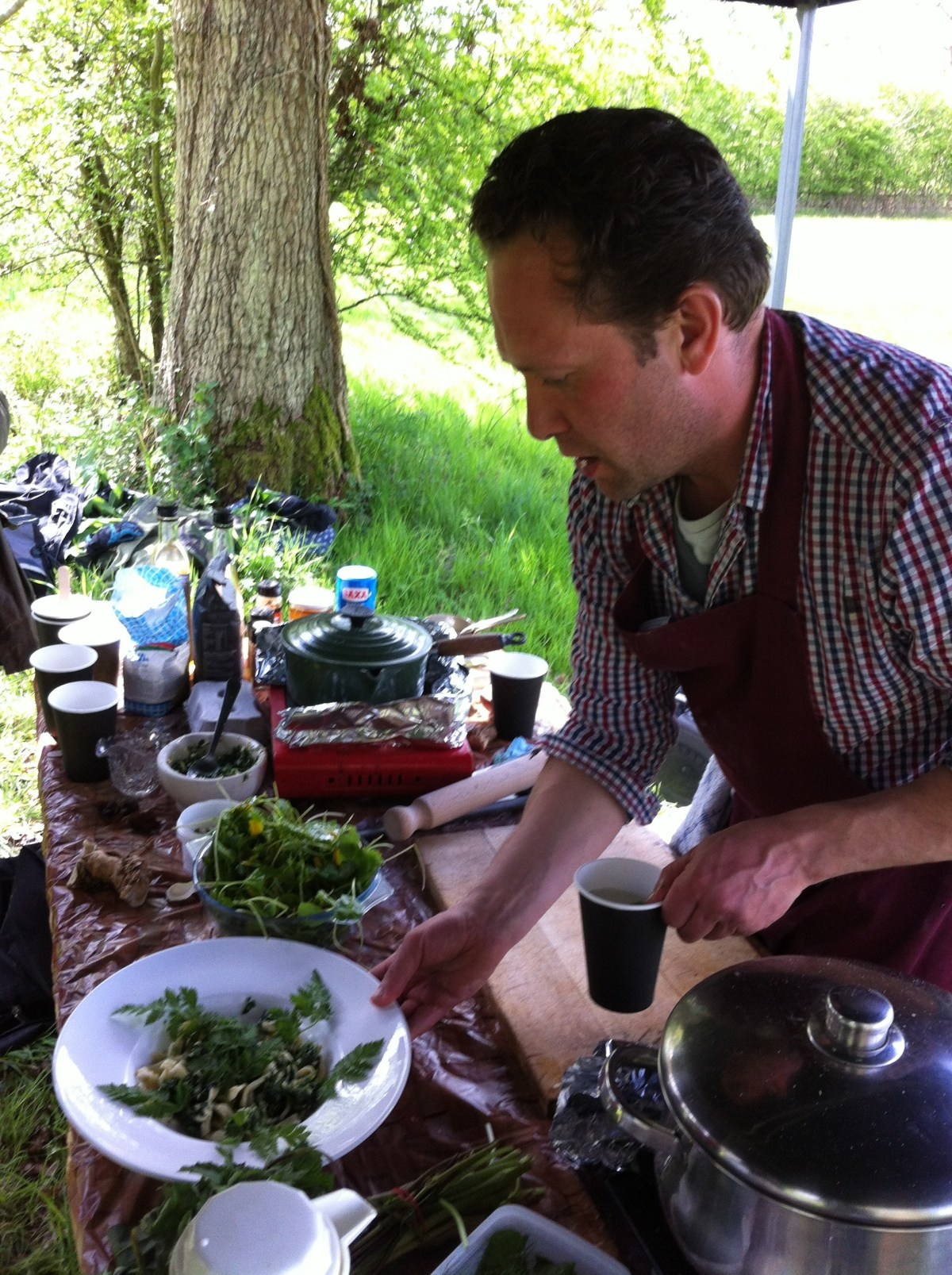 Wild Garlic Foraging Workshop