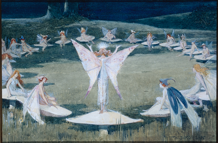 'A Fairy Ring' by Walter Jenks Morgan