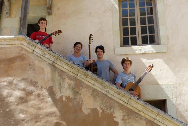 Guitare avec Benjamin Valette