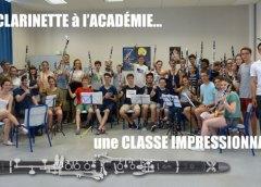 Jérôme VOISIN une personnalité en Clarinette Pour une Master-Class prometteuse.