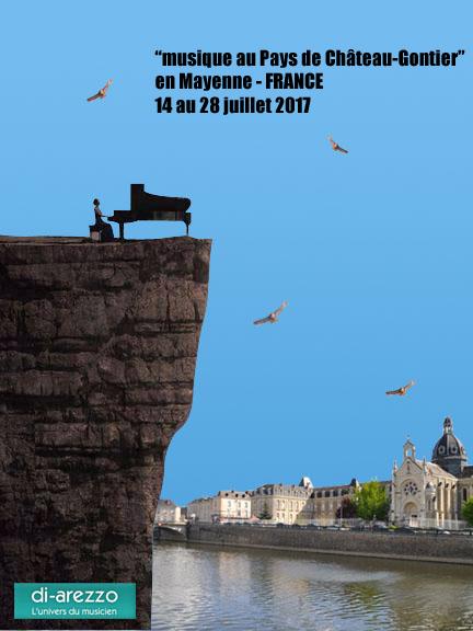 CHÂTEAU-GONTIER et l'Académie d'Été, un mois de juillet plein de promesses !