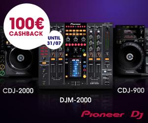 Pioneer DJ 100€ Cashback