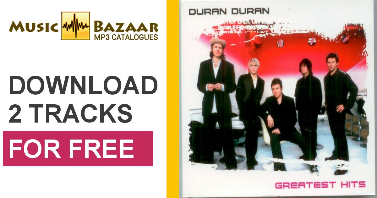 Greatest Hits CD2  Duran Duran mp3 buy full tracklist