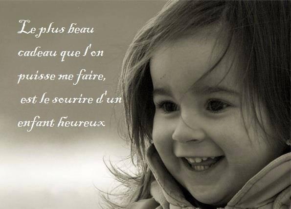 citation sourire enfant