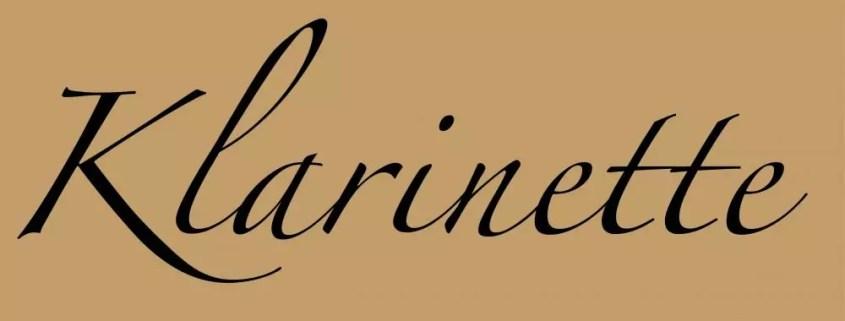 Klarinette Noten