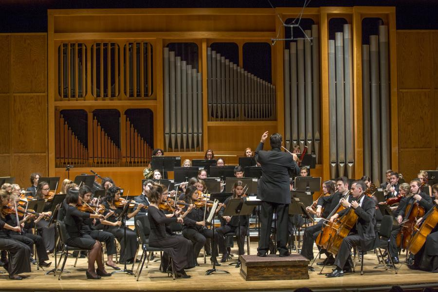 Orchestras  College of Music