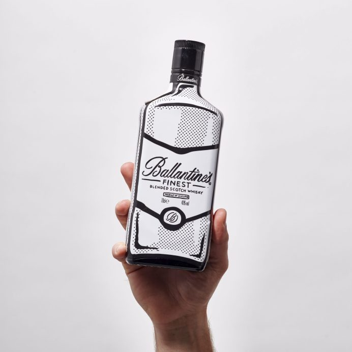 Balletine's collaboration with Joshua Vides photographed by London Drinks Photographer Jamie Lau / Studio Lau for Pernod Richard, commissioned by M&C Saatchi. Prop Stylist Jane Berry / Drinks Stylist Tara Garnell.