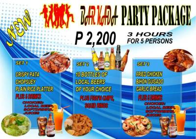 Pasay Branch Promo Barkada Package Set 1 2 3