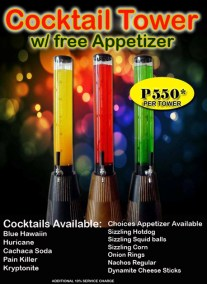 Pasay Branch Promo Cocktail Tower