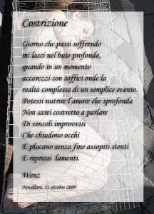 """""""Costrizione"""" - Poesia di Enzo Crotti dedicata a Giacomo Leopardi"""